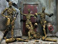 "CUSTOM 3.75"" Scary Bloody Articulated ZOMBIE Action Figure GI Joe Acid Rain RARE"