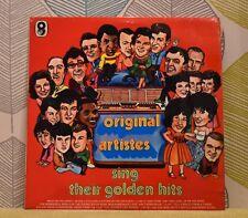 Original Artists Sing Their Golden Hits [Vinyl LP] ST 969 Hollies*Kramer *EXC
