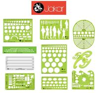 Jakar Stencils Templates Architectural Technical Artist Design Drawing Aid Tool