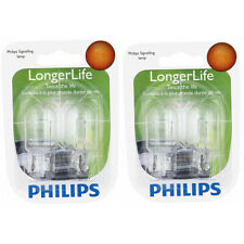 Two Philips Long Life Mini Light Bulb 7440LLB2 for 7440 7440LL T-61/2 13.5V xm