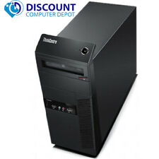 Lenovo Thinkcentre Desktop Computer Tower Quad Core i5 8GB 500GB Windows 10 WiFi