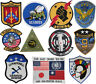 Top Gun in Various Badge Embroidered Patch Sew/Iron - on