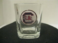 "1"" Bottle Cap Image Shot Glass ~ Handcrafted ~ **Gift Idea ~ Gamecocks"