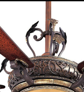 Minka Aire Ceiling Fan Napoli Decorative Scroll Acessory F705-STW