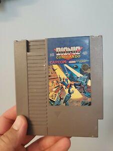 Bionic Commando Capcom NES 1985 Nintendo AUTHENTIC