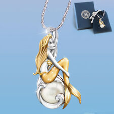 Waves of Wonder Little Mermaid Ariel Necklace Pendant Disney