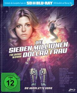 The Bionic Woman- complete TV series season 1,2 +3- 1-3-Blu-Ray Lindsay Wagner