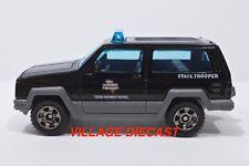 """2018 Matchbox """"Texas Patrol"""" Jeep® Cherokee™ BLACK / STATE TROOPER / MINT"""