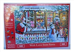 With Love From Santa New Release 500 Christmas House of Puzzles Jigsaw Puzzle