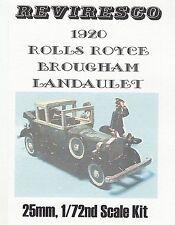 Rolls Royce 1920 - Limousine Brougham Chassis als Landauer - Zinnbausatz - 1:72