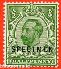 SG. 335 s. N3 (1) s. ½d green.Die 1B. A very fine UNMOUNTED MINT example.