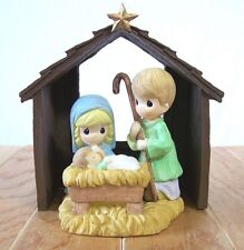 Precious Moments Nativity Set 2009 893410 New in Box