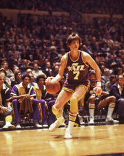 New Orleans Jazz PETE MARAVICH 'Pistol Pete' Glossy 8x10 Basketball Photo Poster