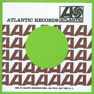 ATLANTIC RECORDS (red a's) - REPRODUCTION RECORD COMPANY SLEEVES - (pack of 10)