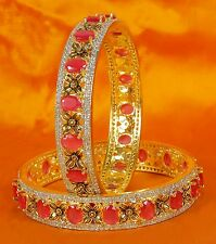 Indian Diamond American Jewelry Bangles Bracelet Bollywood Zircons Made Bangle