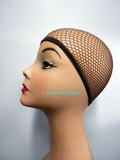 Brown Fashion Hair Wig Weaving Stretchable Net Mesh Fishnet Elastic snood cap