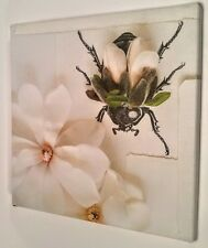 Ikea Insect On A Flower Canvas Art
