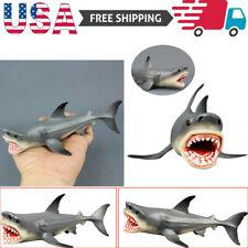 Megalodon Prehistoric Shark Ocean Education Animal Figure Model Kids Toy Gift