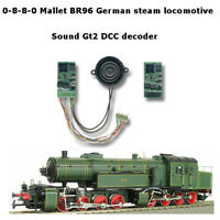 0-8-8-0 Mallet BR96 steam locomotive SoundGT2.1 DCC decoder for TRIX, Rivarossi