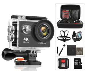 1080P 4K Full HD Waterproof WiFi Sport Action Camera Travel Camcorder Cam DVR