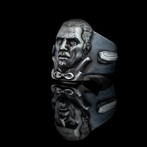 Dracula 1931 Horror Ring, sterling silver, handmade ... Bela Lugosi ring