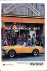 MG Midget Your Mother Wouldn't Like It - Greeting card by Vintage Ad Gallery