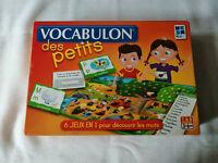 """Jeux des petits  Vocabulon """"6 jeux en 1"""" de mega bleu à partir de 3 ans"""