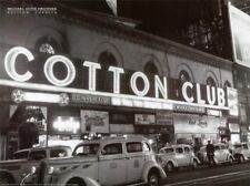 JAZZ MUSIC CLUB ART PRINT Cotton Club by Michael Ochs New York City Poster 24x32