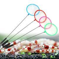 New 4PCS of Brine Shrimp Net Super Dense Mesh Mix Color Aquarium Fish Tank B5F4