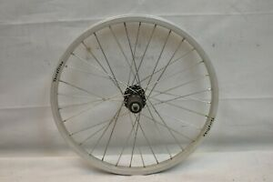"Rear 20"" Recumbent Wheel Terra Trike Silver 8/9SPD OLW135 32S 20mm AV QR Charity"