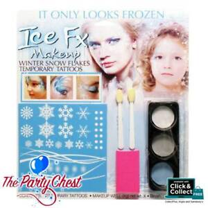 ICE FX WINTER SNOWFLAKE MAKEUP KIT Frozen Ice Effect Princess Make Up Set 5207