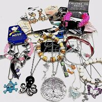 Wholesale Lot 24 Fashion Jewelry-Bracelets-Necklaces-Anklets-New-Free Shipping