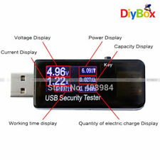 LCD USB Tester Detector Voltmeter Ammeter Power Capacity Voltage Current Meter