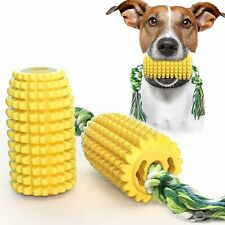 New listing Dog Toothbrush Chew Toys Pet Teething Corn Molar Stick Bite-Resistant Toy With