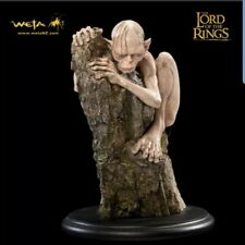 WETA Gollum Mini Statue Miniature Figure Lord Of The Rings Hobbit NEW DOUBLEBOX