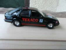 CORGI  FORD SIERRA 'TEXACO-'7' RALLY  CAR IN BLACK,-USED/GOOD CONDITION/UNBOXED
