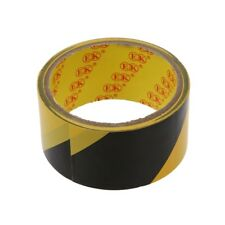 32.8Ft 10 Meters Black Yellow Floor Adhesive Safety Caution Tape U5P4