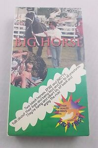 RARE Big Horse Spike & Smitty VHS New Factory Sealed Childrens Educational Movie
