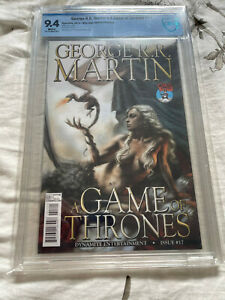 Game of Thrones 17 Parrillo Daenerys variant CBCS 9.4 NM Dynamite Comics