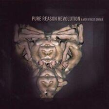 PURE REASON REVOLUTION - AMOR VINCIT OMNIA - CD + DVD NUOVO 2009