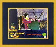 Ron Campbell Beatles Yellow Submarine Signed Lobby Card L/ED Set Custom Framed 6