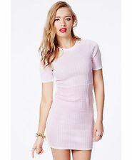 MISSGUIDED ASOS PINK GINGHAM CHECK DRESS 10 BNWT