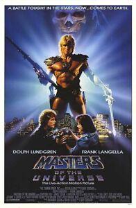 Masters Of The Universe Original Filmposter Einzel Seiten Selten - Dolph