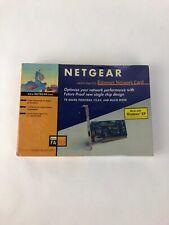 Sealed Netgear FA311 Ethernet Network Card 10/100 Mbps PCI FSTSHP