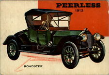 1954-55 World on Wheels #76 Peerless (Collector Card) - Poor Crayon writing