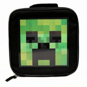 Minecraft Kids Hologram Creeper & TNT Lunch Box