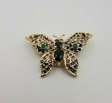 Butterfly Brooch - with Gemstones