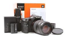 Sony Alpha A77 24.3MP Digital SLR Camera Body w/ 70-300mm Lens - Only 12K Clicks