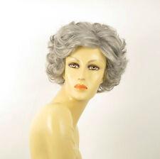 Parrucca donna ricci corta grigio : juliette 51