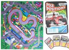 Racing Car Play Mat PLUS Super Trumps Pole Positions Racing Card Game Formula 1